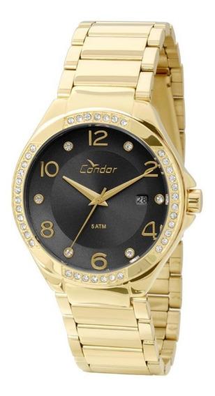 Relógio Feminino Condor Co2115sv/4p - Dourado