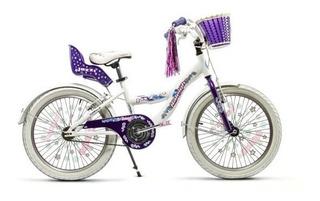 Bicicleta Rodado 20 Raleigh Jazzi Niña