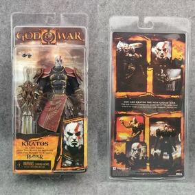 Boneco Kratos Action Figure God Of War Armadura De Ares Novo