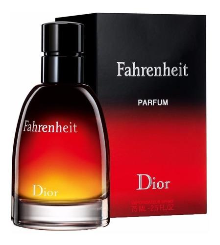 Perfume Importado Fahrenheit Edp De Christian Dior 75ml