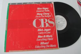 Nina Hagen,mick Jagger,wham! Lp Supermix 1985(leia Descrição