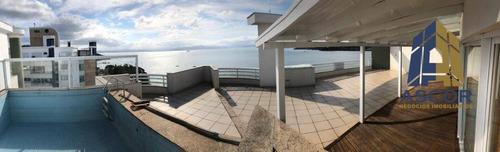 Cobertura Com 3 Dormitórios À Venda, 345 M² Por R$ 3.000.000,00 - João Paulo - Florianópolis/sc - Co0318