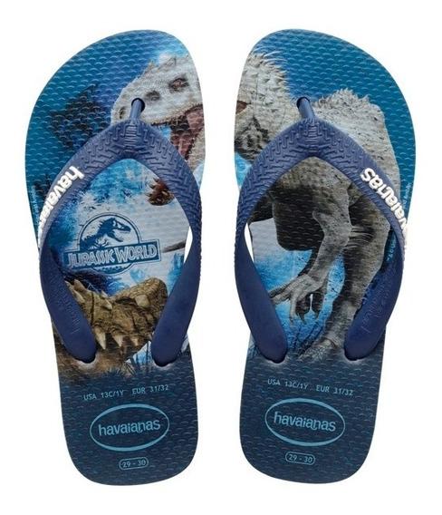 Zonazero Havaianas Ojotas Jurassic World Niños Originales