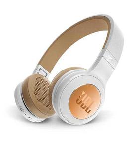 Fone Ouvido Jbl Duet Bt Headphone Branco Dourado Jblduetbt