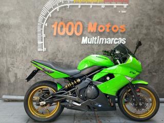 Kawasaki Ninja 650 R 2011 Otimo Estado Aceito Moto