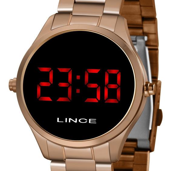 Relógio Lince Digital Led Feminino Mdr4618l Vxrx Original