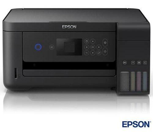 Impressora Multifuncional Epson Ecotank Jato De Tinta L4160