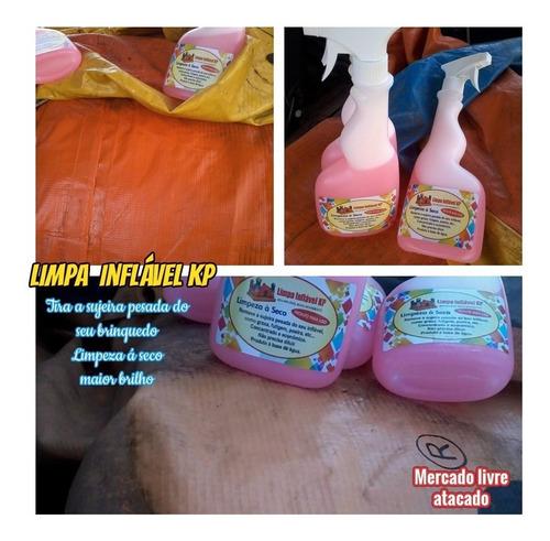 Imagem 1 de 10 de  Inflaveis Brinquedos Limpa Inflavél Kp1000 Pula Pula Kit 03