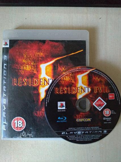 Resident Evil 5 Ps3 Mídia Física Playstation 3 Liquidação!