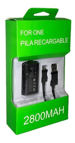 Imagen 1 de 6 de Kit Carga Y Juega Para Control  Xbox One Y Xbox One S
