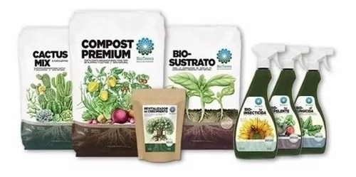 Pack Fertilizante + Minerales Revitalizador 500grs Bioterra