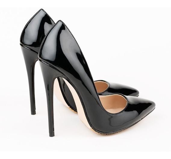 Zapatos Stilettos Taco Alto 12 Cm