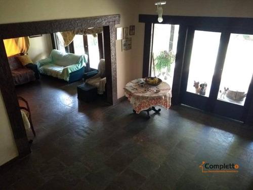 Imagem 1 de 30 de Casa Com 5 Dormitórios À Venda, 300 M² Por R$ 500.000 - Taquara. - Ca0139