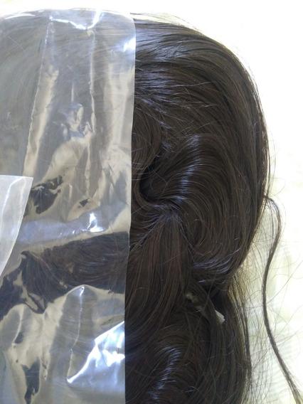 Cabelos Bebê Reborn - Fibra Beautex Castanho Escuro N°04