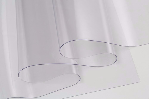 Imagem 1 de 3 de Plástico Cristal Pvc Vulcan Transparente 0,025mm 4 Metros