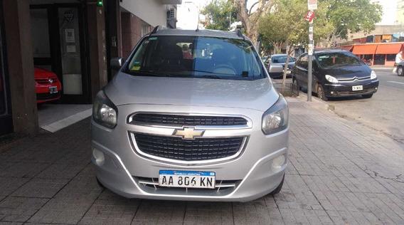 Chevrolet Spin Lt Con Gnc1.8l 5p Buen Estado!! Financio!!!