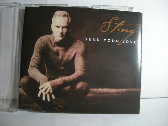 Send Your Love Sting Simple Single Eu Police Cd En Caballito
