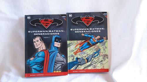 Superman / Batman Generaciones Parte 1 Y 2 2 Tomos Dc