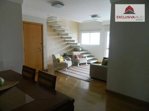 Cobertura Com 340m² E 4 Dormitórios Na Vila Ema - Co0002