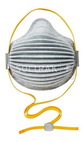 Imagen 1 de 7 de Respirador Sin Válvula Y Carbón Activado N95 Moldex (08 Und)