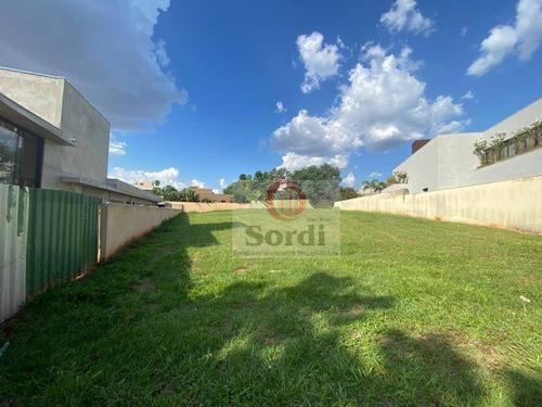 Imagem 1 de 8 de Terreno À Venda, 1142 M² Por R$ 2.600.000,00 - Condomínio Ipê Branco - Ribeirão Preto/sp - Te1369