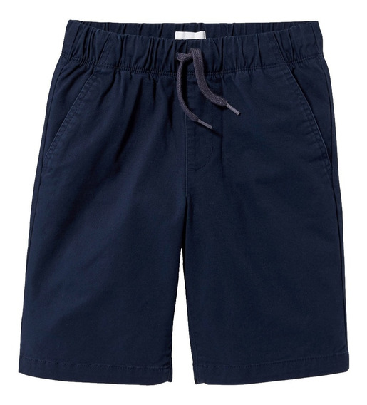 Short Niño Casual Cintura Elástica Cordón Ajustable Old Navy