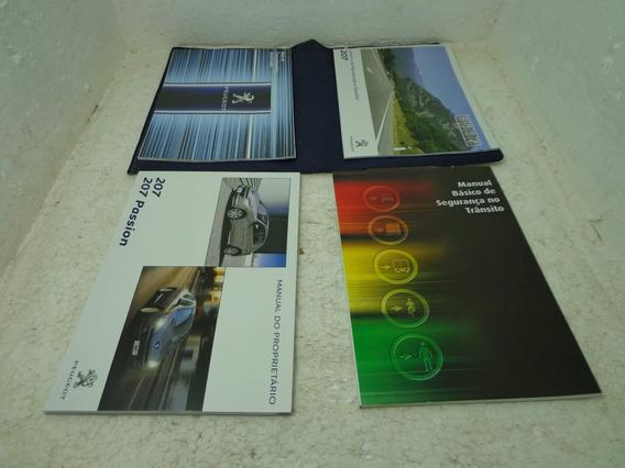 Manual De Bordo Proprietário Completo Original Peugeot 207