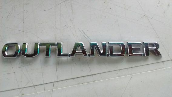 Emblema Letreiro Logomarca Traseiro Outlander Original Usado
