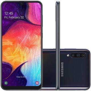 Celular Samsung Galaxy A50 Preto 128gb Câmera Tripla 25mp