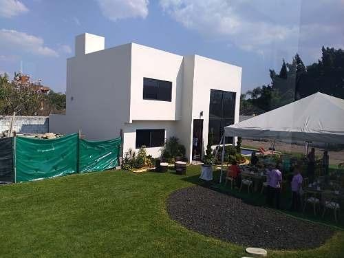 Venta Casa Nueva Condominio 7 Casas C Alberca Jiutepec Mor.