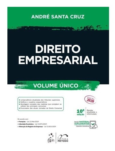Direito Empresarial - André Santa Cruz - Edição Atual