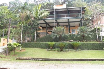 Casa Em Condomínio Mobiliada A Venda Em Ubatuba, Condominio Recanto Da Lagoinha, 4 Dormitórios, 2 Suítes, 1 Banheiro, 3 Vagas - 300