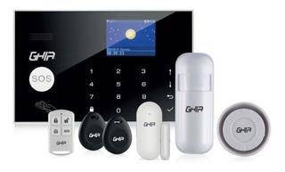 Kit De Alarma Integral Smarthome Ghia Wifi Panel Tactil Pant