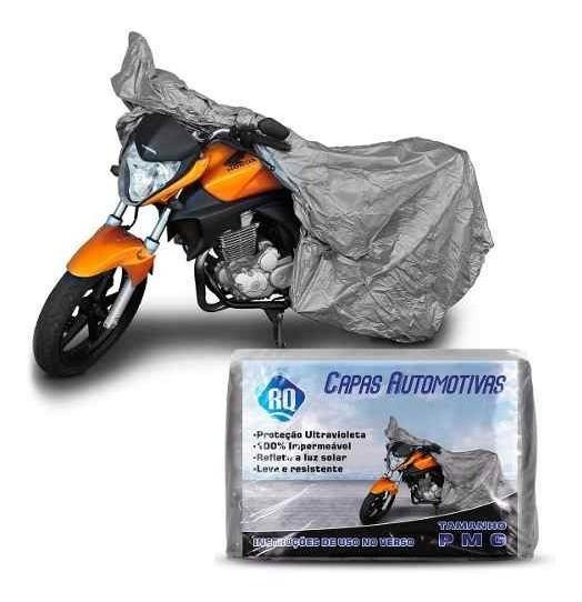 Capa Para Moto 100 % Impermeável Suzuki Yes Tam P