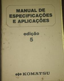 Manual De Especificações E Aplicações - Edição 5