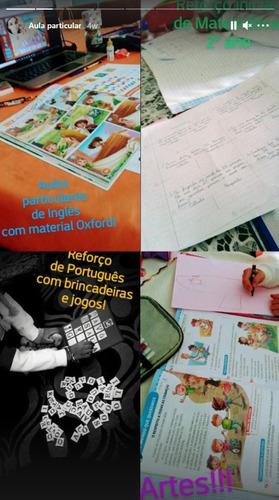 Imagem 1 de 10 de Aulas Particulares De Inglês E De Reforço Infantil/fund I