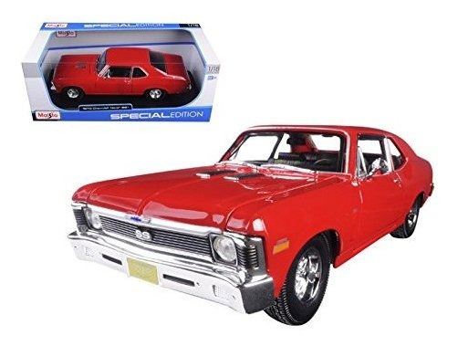 Chevrolet Nova Coupe Rojo 1 By Maisto 31132