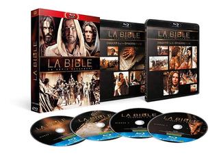 Blu-ray A Bíblia Minissérie Épica Dub/leg 4 Discos Lacrado