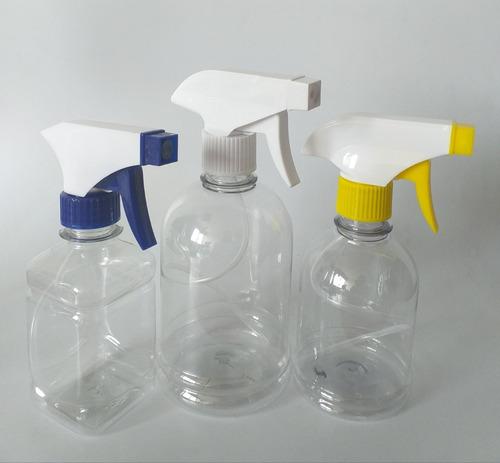 Envase Atomizador Plástico Pack X 3 Unidades