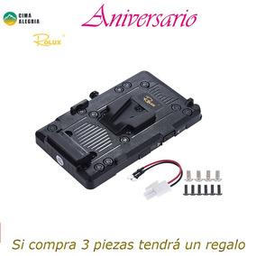 Rolux Negro Bmpcc Camcorder Monitor De Led Luz De Vdeo