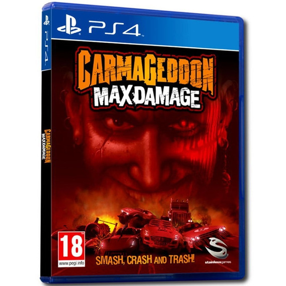 Jogo Carmageddon Max Damage Ps4 Midia Fisica Original Novo