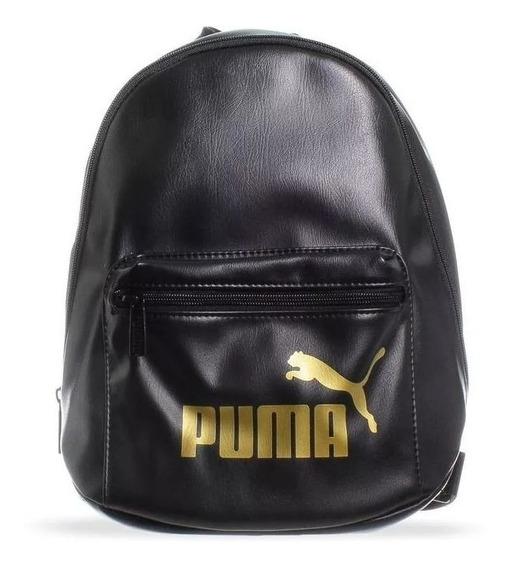 Mochila Puma Core Up Archive - 07657701 - Negro