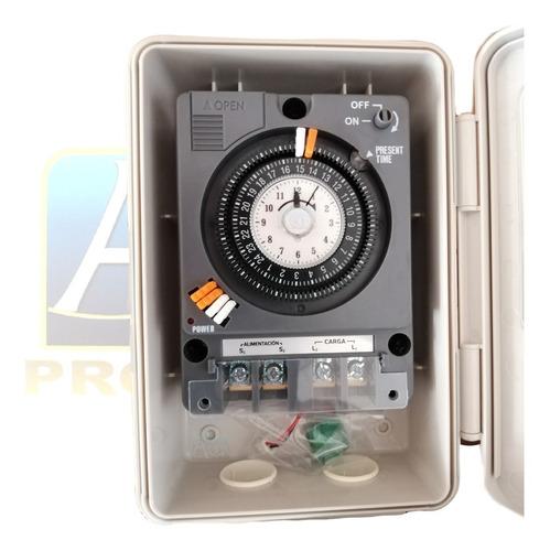 Imagen 1 de 3 de Interruptor De Tiempo Timer 110v/220v   Piscinas Albercas