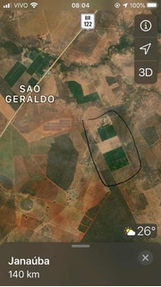 Fazenda No Norte De Minas - Projeto De Irrigação