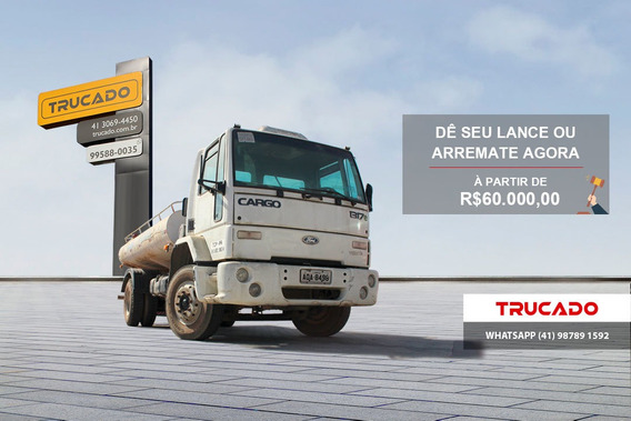 Cargo 1317 4x2 2006 Pipa 7m³ 4cc - Arremate Por Menos