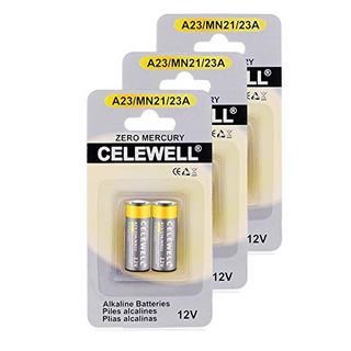 Bateria A23 Bateria 6pcs 1200 Voltios