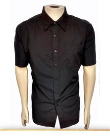 Camisa Social Masculina M/curta - Kit4