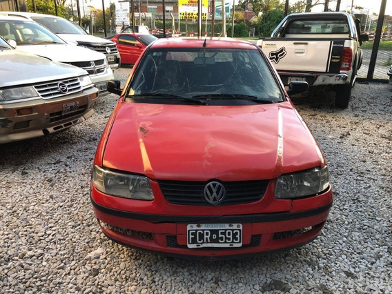 Volkswagen Gol 1.6 C/gnc * Con Detalles * -oferta De Contado