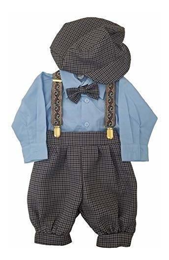 Conjunto De Ropa De Vestir Vintage Para Bebe Y Niño