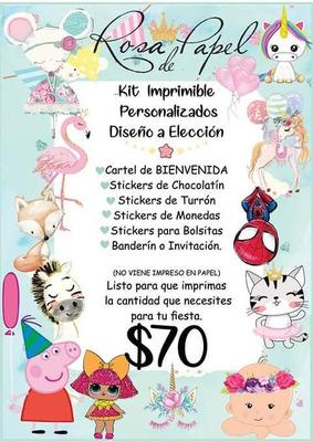 Kit Imprimible Para Fiestas